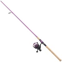 Ridvakomplekt Vantage Pink Carbon 195cm 5-25g Roosa