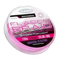 Nöör FLADEN BRAID 16mm roosa