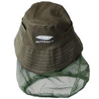 Müts sääsevõrguga rohelin